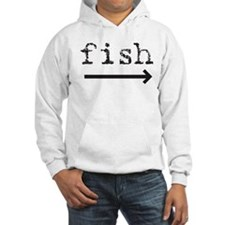 """Fish (arrow)"" Jumper Hoody"
