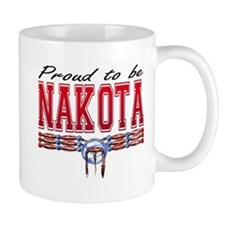 Proud to be Nakota Mug