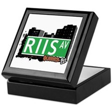 RIIS AVENUE, QUEENS, NYC Keepsake Box