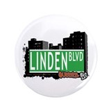 "LINDEN BOULEVARD, QUEENS, NYC 3.5"" Button"