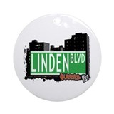 LINDEN BOULEVARD, QUEENS, NYC Ornament (Round)