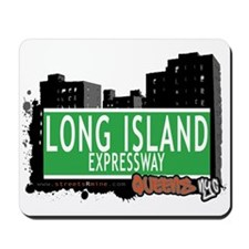 LONG ISLAND EXPRESSWAY, QUEENS, NYC Mousepad