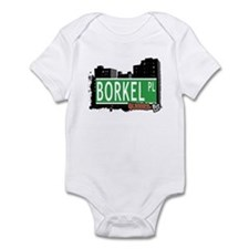 BORKEL PLACE, QUEENS, NYC Infant Bodysuit