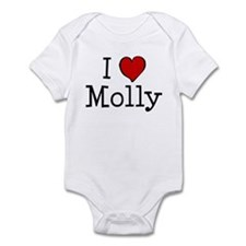 I love Molly Infant Bodysuit