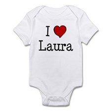 I love Laura Infant Bodysuit