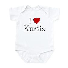 I love Kurtis Infant Bodysuit