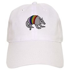 Texas Rainbow Armadillo Baseball Cap