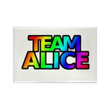 Team Alice Rectangle Magnet