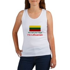 Lithuanian Dupa Women's Tank Top