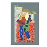 New York Guitar Festival Postcards (Package of 8)