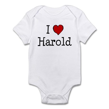 I love Harold Infant Bodysuit