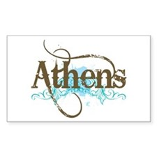 Cool Athens Rectangle Decal