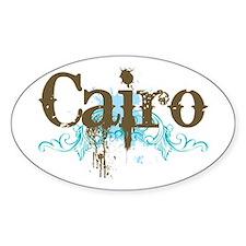 Fun Cairo Oval Decal