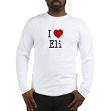 I love Eli Long Sleeve T-Shirt