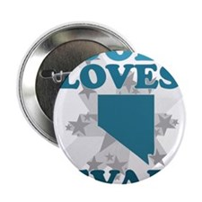 "God Loves Nevada 2.25"" Button"