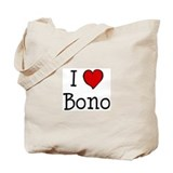 I love Bono Tote Bag