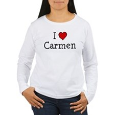 I love Carmen T-Shirt