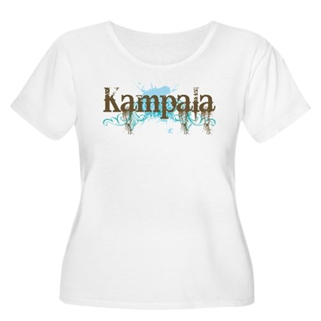 Kampala Women's Plus Size Scoop Neck T-Shirt