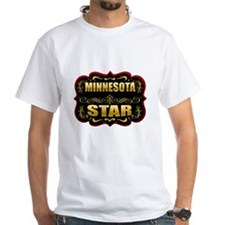 Minnesota Star Gold Badge Sea Shirt