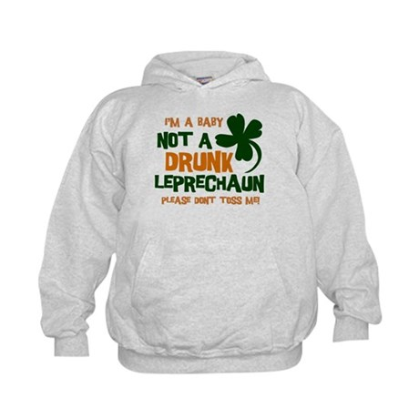 Baby Not Leprechaun Kids Hoodie