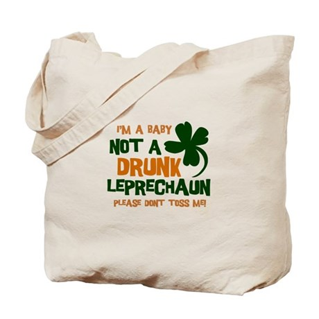 Baby Not Leprechaun Tote Bag