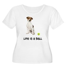 Jack Russell Terrier Life Women's Plus Size Scoop