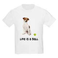 Jack Russell Terrier Life Kids Light T-Shirt