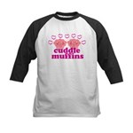 Cuddle Muffins Kids Baseball Jersey