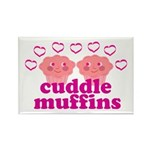 Cuddle Muffins Rectangle Magnet