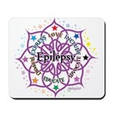 Epilepsy Lotus Mousepad
