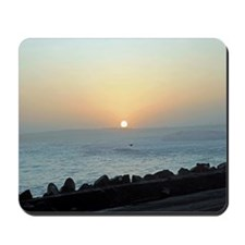 Sunset from the North Jetty Mousepad