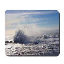 Waves Crashing II Mousepad