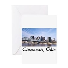 Cincinnati Ohio Greeting Card