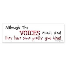 The Voices Bumper Sticker