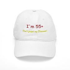 55+ Baseball Cap