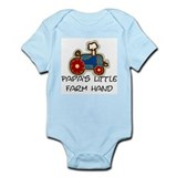 Papa's little farm hand Onesie
