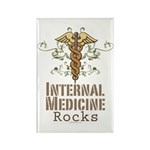 Internal Medicine Rocks Rectangle Magnet (100 pack