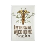 Internal Medicine Rocks Rectangle Magnet