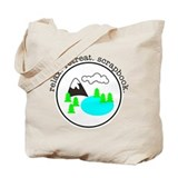 retreat. relax. scrapbook. - Tote Bag