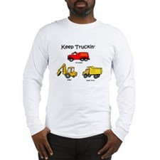 keep truckin' Long Sleeve T-Shirt