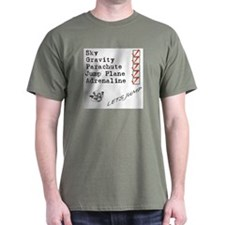 Altimeter skydive T-Shirt