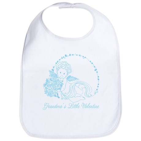 Grandma's Little Boy Valentine Bib