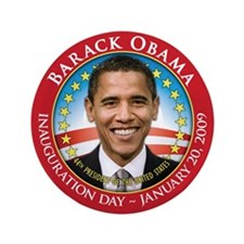 "Barack Obama Inaugural 3.5"" Button (100 pack)"