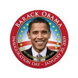 "Barack Obama Inaugural 3.5"" Button"