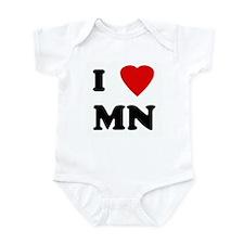I Love MN Infant Bodysuit