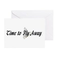 TEE Time to Fly Away Greeting Cards (Pk of 10)