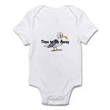 Time to Fly Away Infant Bodysuit