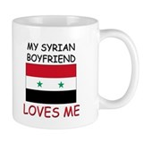 My Syrian Boyfriend Loves Me Mug