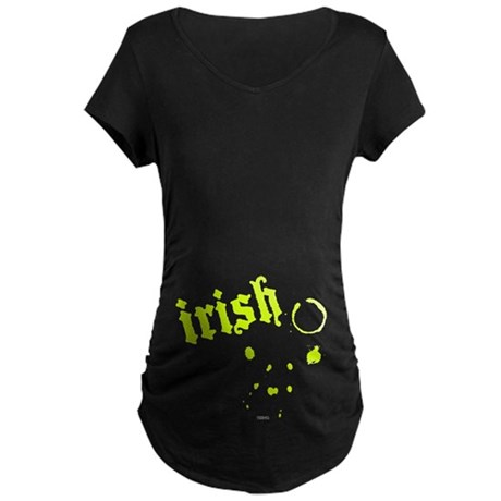 Irish Maternity Dark T-Shirt