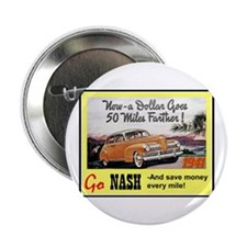 """1941 Nash Ad"" 2.25"" Button"